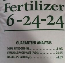 5lb 6-24-24 Fertilizer Great for Legumes Garden, Farm and food plot fertilizer