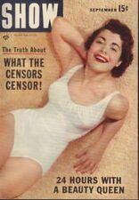 Show Digest September 1955 Sophia Loren Cheesecake Pin Up 091218AME2