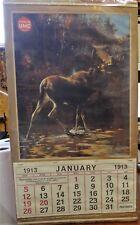 1913 Remington-Umc Reproduction Calendar, Rungius Image