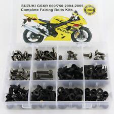 Fairing Bolt Kit Bodywork Screws For Suzuki GSXR 600 GSXR 750 2004-2005 Titanium