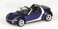 Smart Roadster 2003 Blue 1 43 Minichamps 400032130 Miniature