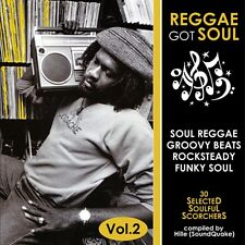 REGGAE GOT SOUL MIX CD VOL 2