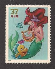 Disney - The Little Mermaid - U.S. Postage Stamp - Mint Condition