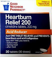 GNP Heartburn Relief 200mg cimetidine  Acid Reducer 30 tablets