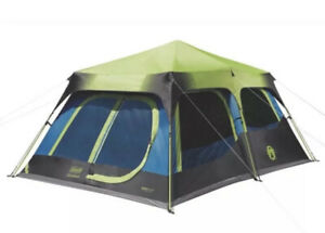 Coleman 10-person Dark Room Fast Pitch Cabin Tent, WeatherTec - System