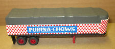 HO Classic Metal Works - CMW - Mini Metals - Purina Chows - Covered Trailer