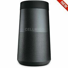 Bose SoundLink Revolve Portable Bluetooth Speaker, True 360 Sound (Black)