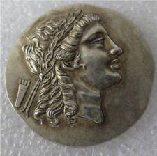 Ancient Greece Tetradrachm Coins Copper 200-150 B.C. Myrina Aeolis Greek Art
