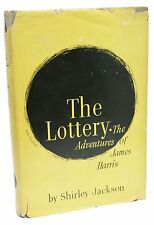 The Lottery ~ First Edition ~ Shirley Jackson ~ 1st Printing ~ Rare ~ 1st Issue