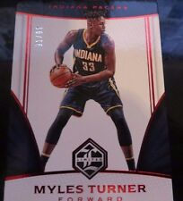 MYLES TURNER 2016/17 PANINI LIMITED #82 RED SPOTLIGHT #91/99 INDIANA PACERS