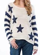 Hilfiger Denim Women's NILLA  sweater cream/blue L