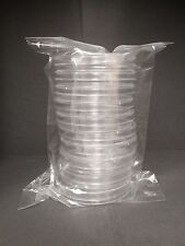 90 x 15 mm Sterile Plastic Petri Dishes Sterile 5 packs (50 plates)