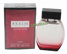 Realm Intense Perfume by Erox, 3.4/3.3 oz EDT Spray for Men New In Box