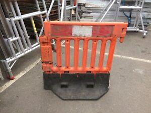 Oxford Chapter 8 Strongwall Pedestrain Safety Orange Barriers Inc. VAT