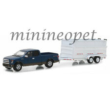 GREENLIGHT 32120 C HITCH & TOW 2016 FORD F-150 PICKUP TRUCK & DUMP TRAILER 1/64