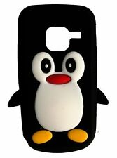 Black Silicone Penguin Phone Case / Cover for Nokia C3