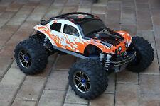 Custom Buggy Body Muddy Orange/WB for Traxxas T / E Maxx Shell 3911R E-Maxx