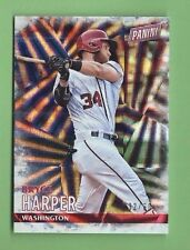 BRYCE HARPER 2016 PANINI BLACK FRIDAY #11 NATIONALS SER #d 30/50
