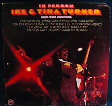 IKE & TINA TURNER~In Person~Soul Funk Album~MINIT #LP 24018 The Ikettes