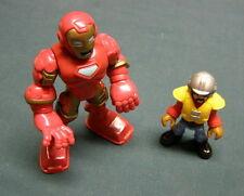 Iron Man Toy Figurine Marvel Hasbro Europe 2012 and Smaller Male Figurine