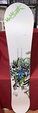 Ride Fever 150cm Women's Snowboard Used Great Condition Slime Walls 85A Mammoth