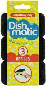 27x Dishmatic Sponge Refills General Purpose/ Non Scratch / Heavy Duty -Cheapest
