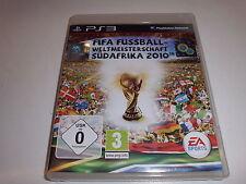 PlayStation 3  PS3  FIFA Fussball Weltmeisterschaft 2010 Südafrika