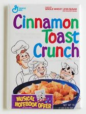 Cinnamon Toast Crunch FRIDGE MAGNET (2 x 3 inches) cereal box chef