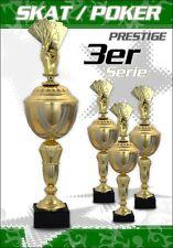 3er Skat Poker Pokalserie Pokale Poker GOLDEN PRESTIGE
