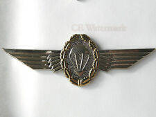 GERMAN PARATROOPER GERMANY LARGE JUMP WINGS LAPEL PIN 3.5 INCHES