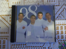 Because of You [Australia CD Single] [Single] by 98° (CD, Sep-1998, Motown...
