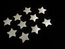 Fahrradaufkleber Reflektierende Aufkleber Silber Stern Reflexfolie Reflektor