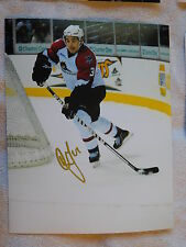 Colorado Avalanche Cameron Gaunce Lake Erie Monsters 8x10 Photo