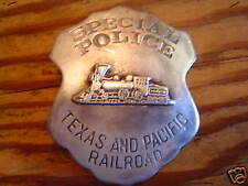 Badge: Texas & Pacific Railroad Police, Lawman, Old West
