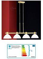 Rado Hängelampe Esszimmer Pendellampe Messing Deckenlampe Esstisch Lampe gold
