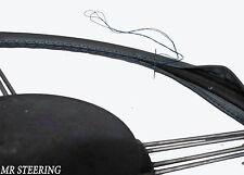 Pour Lotus Ford Cortina MK2 Gris Foncé Housse Volant Cuir Bleu Broderie