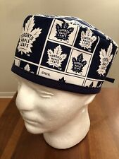 Toronto Maple Leafs Men's Surgical Scrub Hat - Skull Cap