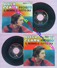 LP 45 7'' DIEGO PEANO Proibito Il mondo e'tutto qui 1969 italy RIFI no cd mc dvd