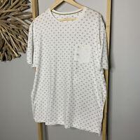 B Collection Size 3XL /47 Men's T-shirt NWOT Cotton Front Pocket White XXXL NEW