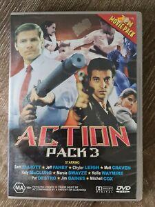 Action Pack 3 Ten Movie Pack DVD Set