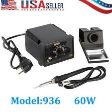 936 Power Iron Frequency Change Desolder Welding Soldering Station 60W 110V