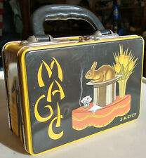 Accoutrements - Magic-themed Metal lunch box - 1999 - Famous Magicians