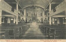 Convent Chapel, Sisters Of The Holy Cross, St Laurent, Montreal Canada 1910