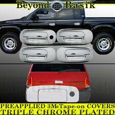 1998-2003 DODGE DURANGO Chrome Door Handle Tailgate Liftgate COVERS 4DR 1Keyhole