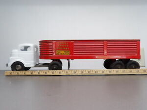 Vintage Structo Steel Cargo Semi & Trailer