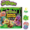 GooZooka Squiezie Surprise Glow in the Dark Making Your Own 4 Color Slime Ball
