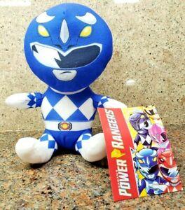 NEW Blue Power Rangers Plush Toy Doll Figure Saban's Hasbro Triceratops 2020