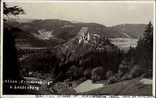 Schloß Friedensburg bei Leutenberg Thüringen s/w AK 1939 gelaufen Gesamtansicht