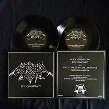 "WITCHES SABBATH - Evil Conspiracy 7""EP  Nocturnal  Cruel Force"