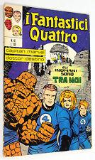 FANTASTIC FOUR #45 ITALIAN EDITION 1972 1st APPEARANCE INHUMANS Very Good